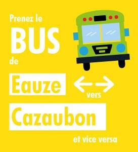 TRANSPORT A LA DEMANDE EAUZE - CAZAUBON