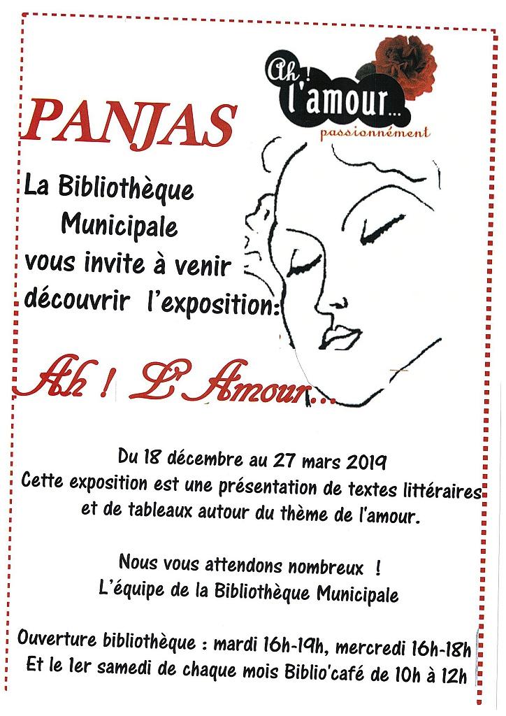 Exposition A Lamour Passionnément A Panjas