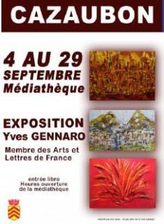 Exposition Yves Gennaro