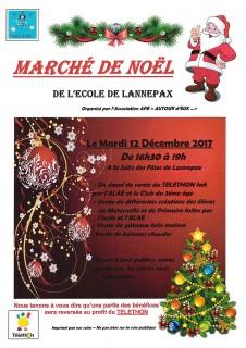 MARCHE DE NOEL A LANNEPAX