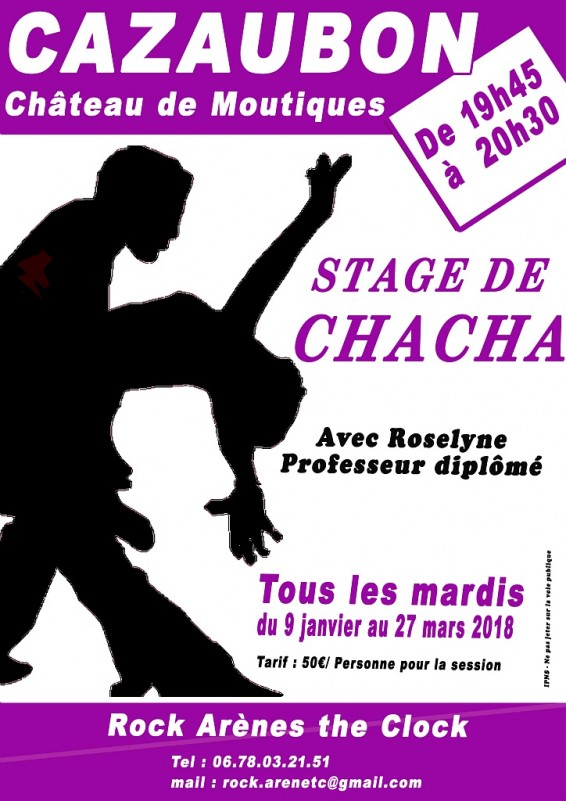 stage de chacha