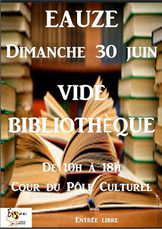 Vide bibliothèque